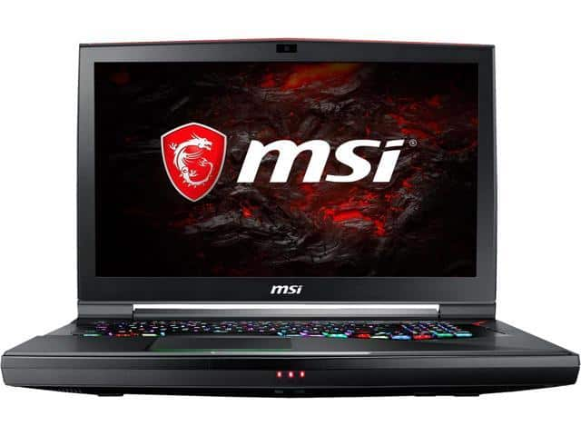 MSI GT75VR Titan Pro-202 with GTX 1080 for $1899 on Newegg