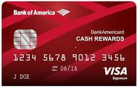 Bank of America $150 cash rewards bonus  after making at least $500  in purchases in the first 90 days of account opening