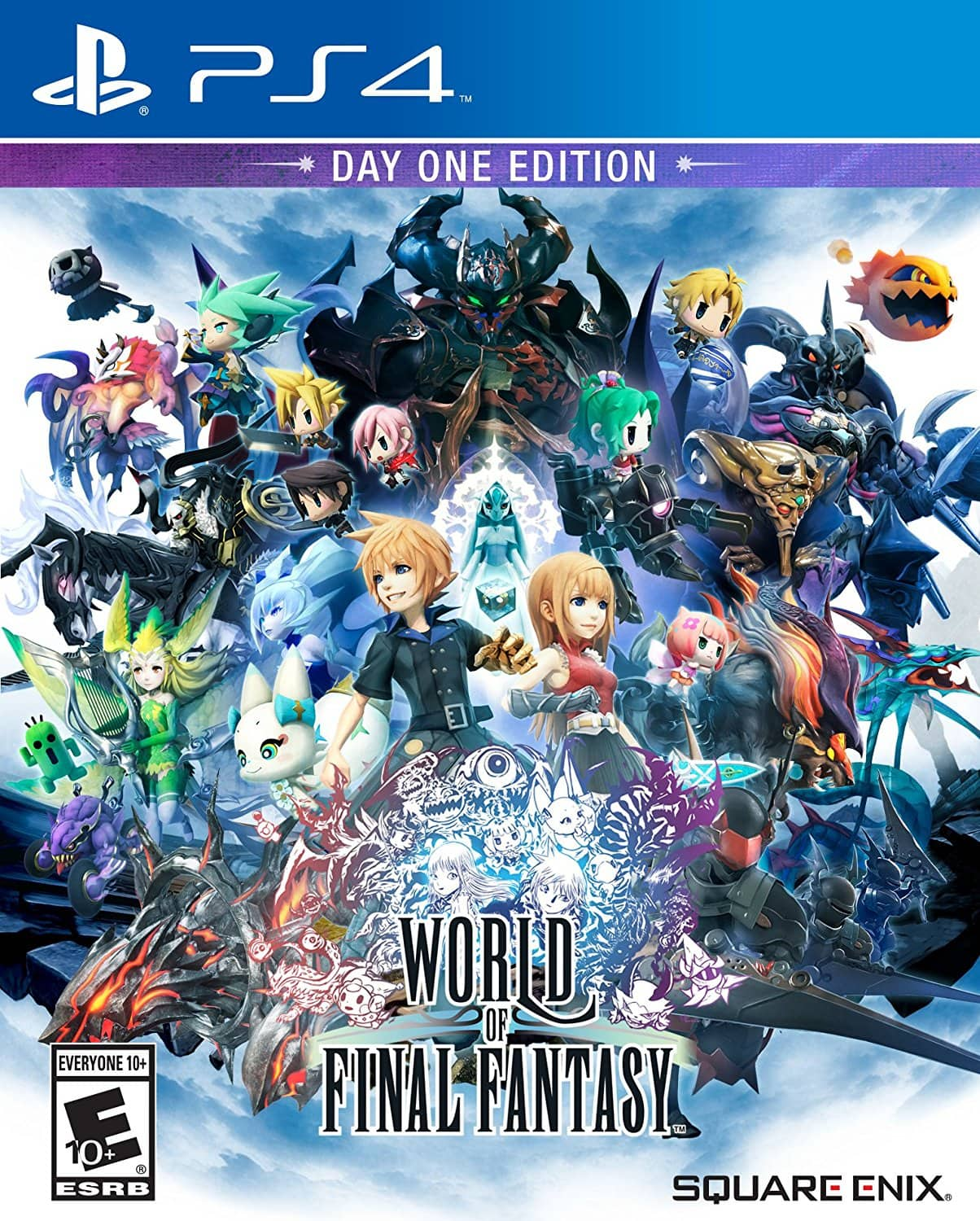 World of Final Fantasy (PS4) - $19.99 with Code on Newegg, $19.99 at GameStop