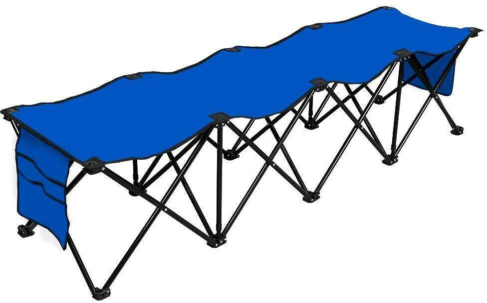 4 Seats Outdoor Sport Sideline Bench Camping Bent 2 Color $40.99