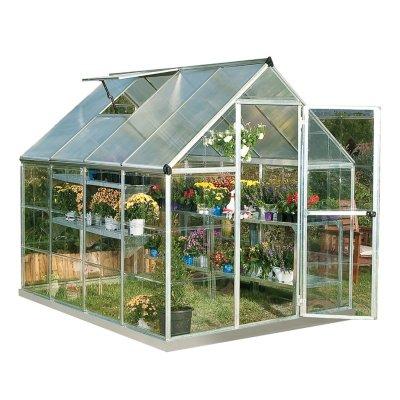 Palram Nature Hybrid 6' X 8' Greenhouse - Silver $399.00 + fs