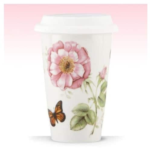 Lenox Butterfly Meadow Thermal Travel Mug -10 oz $5.24 Add on item@amazon