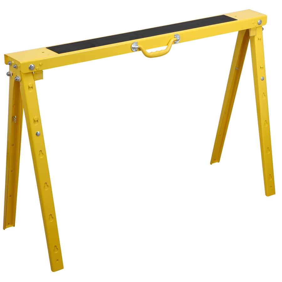 $3.55 Blue Hawk 38-in Steel Saw Horse (1,200-lb Weight Capacity)  @ Lowes
