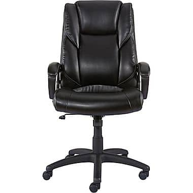 Staples Kelburne Luxura Office Chair, Black / Brown $79.99 @staples.com w/FS