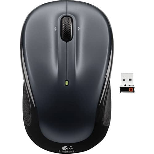 Logitech - M325 Wireless Optical Mouse - Silver $9.99  at Best Buy