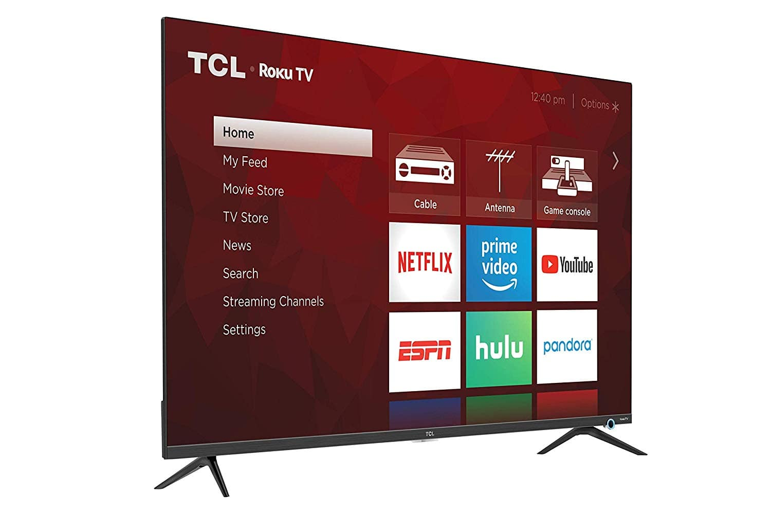"TCL 50"" Class 5-Series 4K UHD Dolby Vision HDR Roku Smart TV - 50S525 [Tv Only] $299.99"