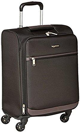 """AmazonBasics Softside Spinner Luggage 21"""" @ $40.03, 3 piece (21"""", 25"""", 29"""") $109.99"""