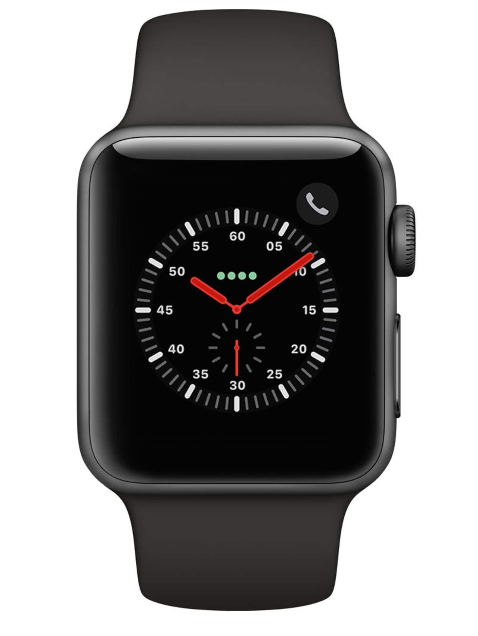B&H has Apple Watch Series 3 Smartwatch (GPS + Cellular, Space Gray Aluminum Case, Gray Sport Band)  $389 42mm; $361 38mm; after 5% CB via Chase Freedom via Apple Pay.