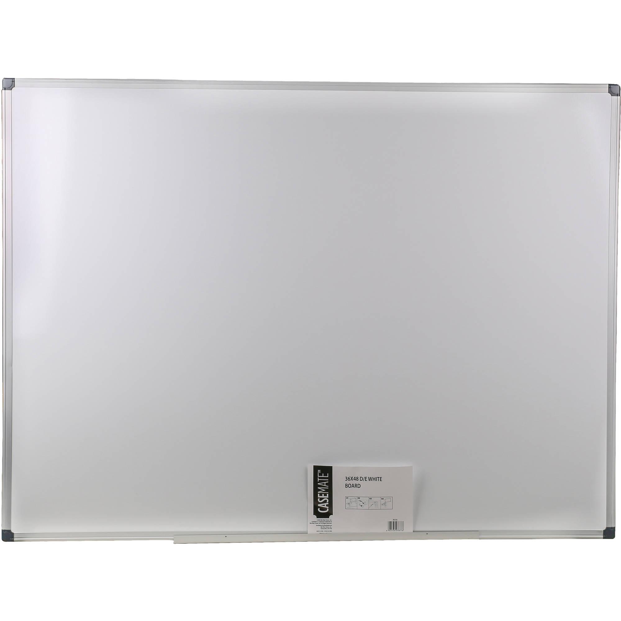 """Casemate 36"""" x 48"""" Dry Erase White Board $11.61"""