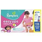 Girls pull ups training diapers, size 2t/3t from $0.20/each and size 3t/4t from $0.24/each (Amazon S/S)