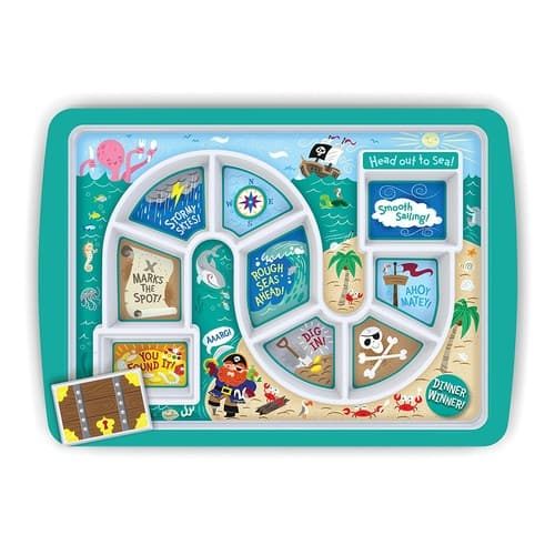 Fred DINNER WINNER Kids' Dinner Tray, Pirate $9.98 Add on item@amazon