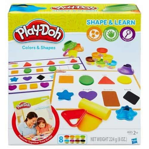 Play-Doh Shape and Learn Colors and Shapes $3.99 Add on item@amazon