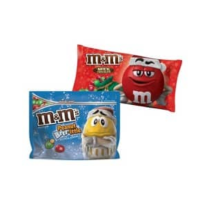 Target Cartwheel: 25% Off M&M's Holiday Chocolate Candies in store coupon