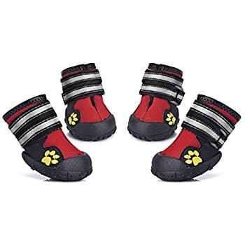 Dog Shoes Water Resistant Pet Boots for  $5.99 @ Amazon  w/FS
