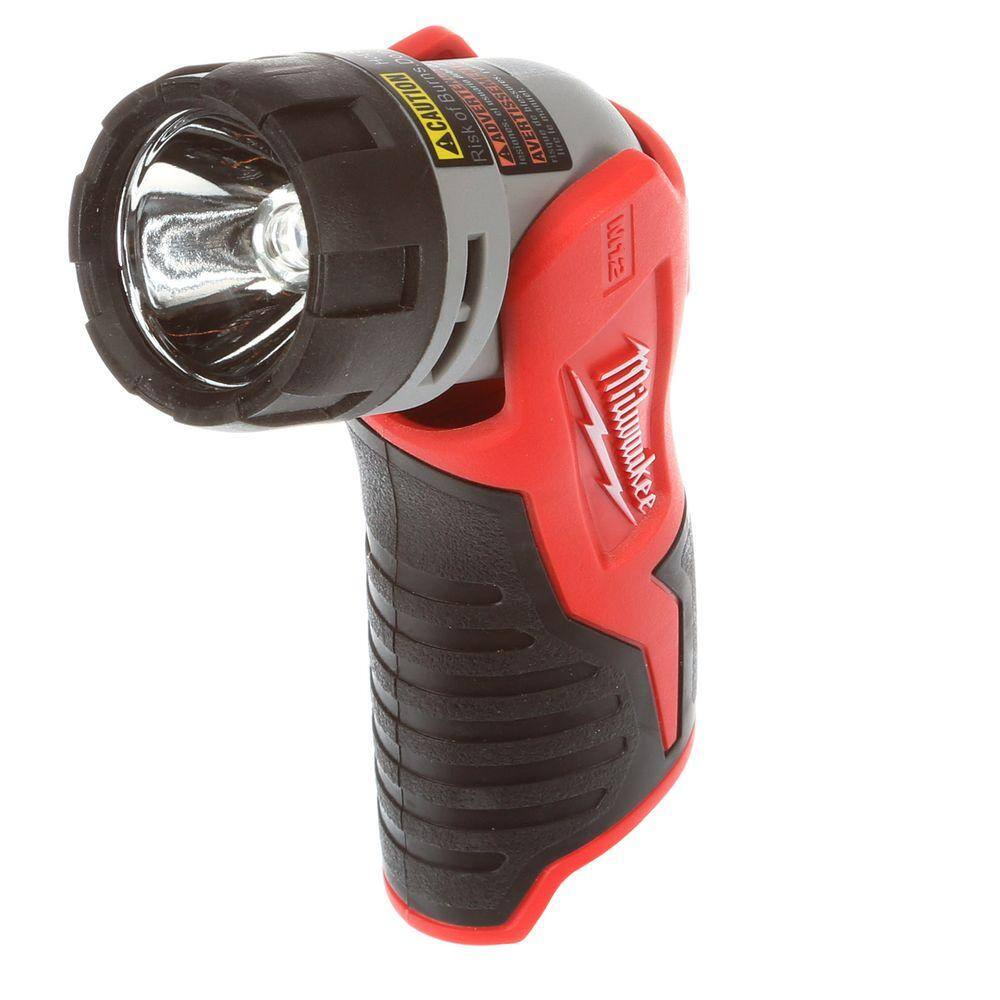 Milwaukee M12 12-Volt Battery Xenon Work Flashlight $12.49 (50% off)