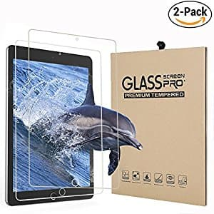 """Apple iPad Pro 10.5"""" Screen Protector Jelly Comb Tempered Glass [2 Pack]  , Pencil Compatible 0.33mm 2.5D Rounded Edge (Type 1) for $5.99 @ Amazon"""