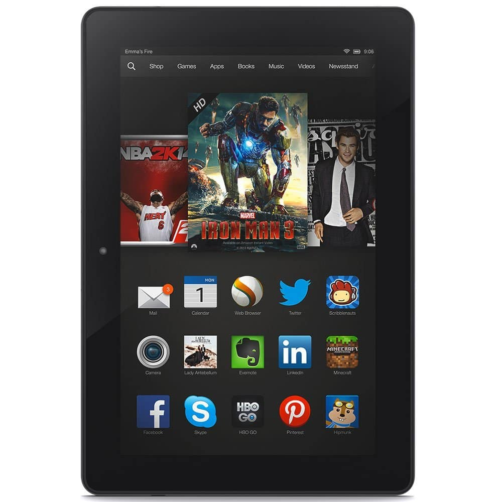 "Amazon Certified Refurbished Fire HDX 8.9"" Tablet from $110 - $130"