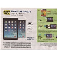 Best Buy Deal: iPad Mini - 16GB - $200 - BestBuy - Starts 8/31