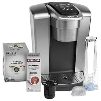 Keurig K-Elite Coffee Maker BUNDLE Includes 15 K-Cup Pods and My K-Cup Reusable Coffee Filter + FREE SHIPPING  (Members Only deal) $104.99