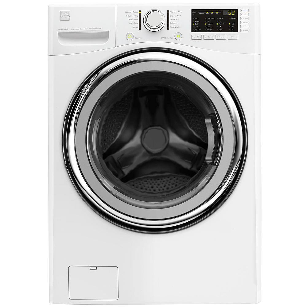 $649.99 Kenmore 41392 4.5 cu. ft. Front-Load Washer w/Accela Wash® - White