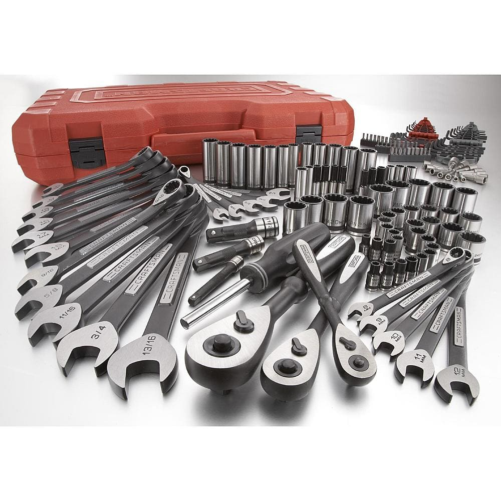 $129.99 Craftsman 153 piece Universal Mechanics Tool Set