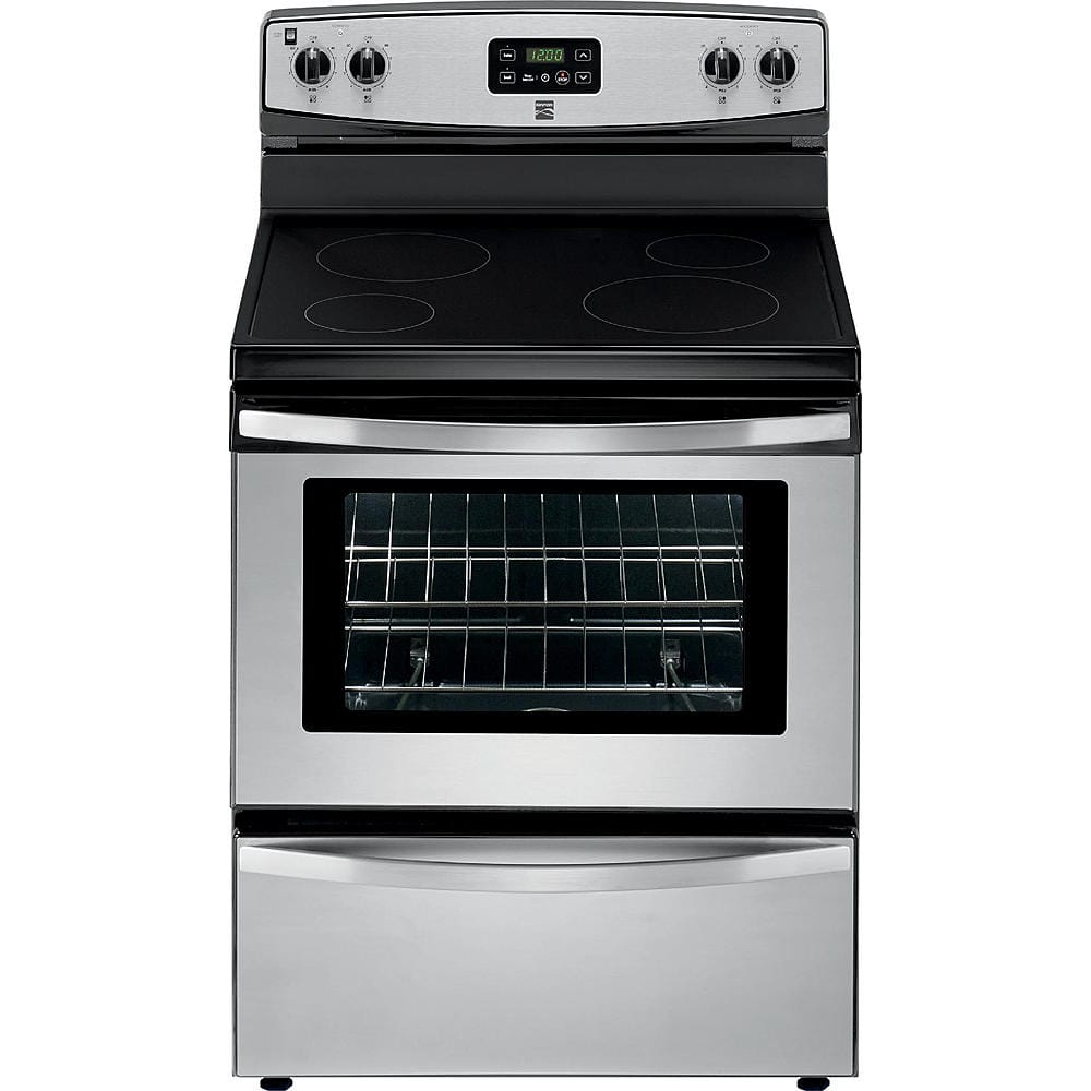 $372.05 + F/S Kenmore 93013 4.9 cu. ft. Electric Freestanding Range - Stainless Steel $372.05