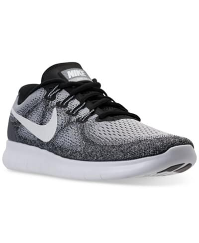 0dcee407dd7a  49 +F S Nike Men s Free Run 2017 Running Sneakers From Finish Line ...
