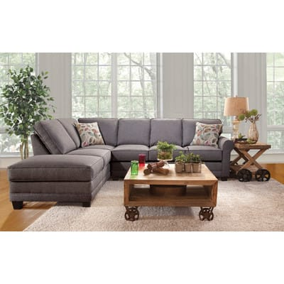 "Serta Left Hand Facing Sectional Sofa 113"" $449 + FS ($405 with first order coupon)"