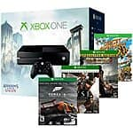 Xbox One console with Assassin's Creed games and one more free game at Best Buy thru 6/7 $350