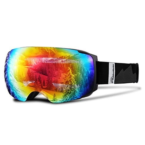 Snow Goggles Frameless Interchangeable Lens $22