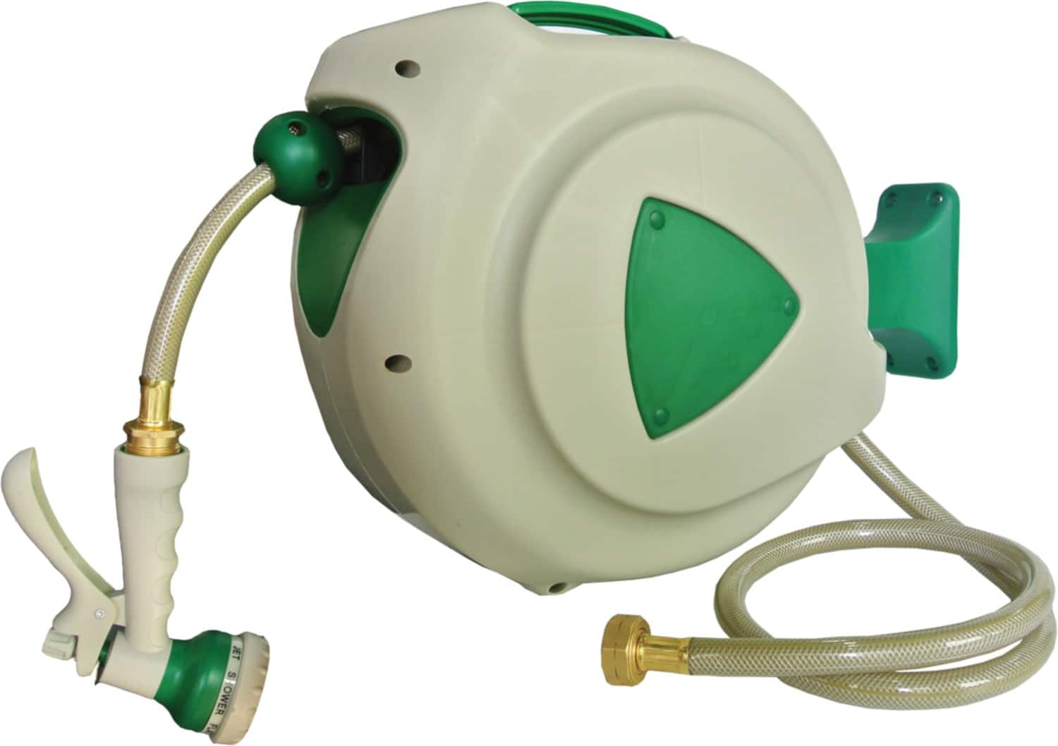 ONLY $20! 32-foot garden hose with sprayer AND AUTO-RETRACTING REEL (Napa Online store) YMMV