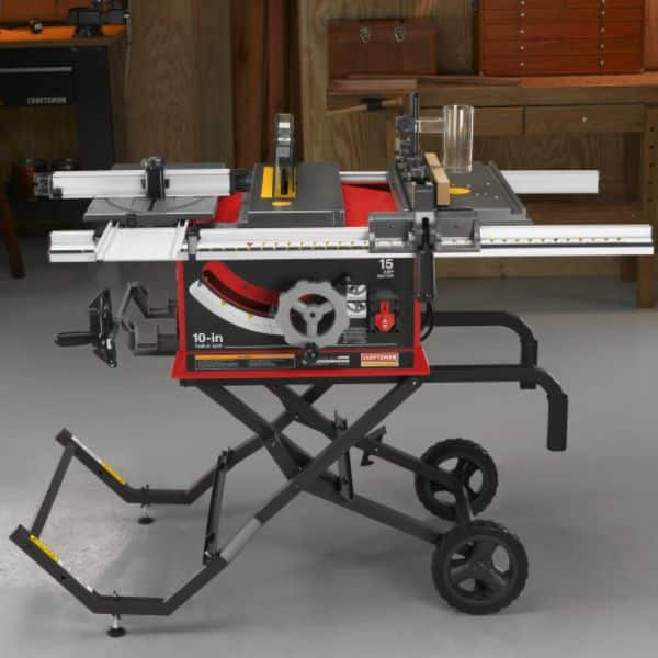 Sears Craftsman Professional 15 amp Portable Table Saw 21829 (Ryobi BT3x Clone) - $364.99 + Tax & Free In-Store Pickup