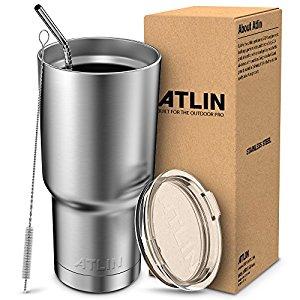 ATLIN 30 oz. Stainless Steel Tumbler/Travel Mug $9.99 @Amazon