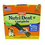 Nylabone Nutri Dent Dog Treat Dental Bones 125 ct. @ Amazon: $18.95 FS w/ Prime