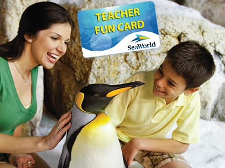 SeaWorld - Free Annual Pass + 2 Single Guest Passes for Teachers in CA + AZ,  FL Annual Card Only, TX possibly included