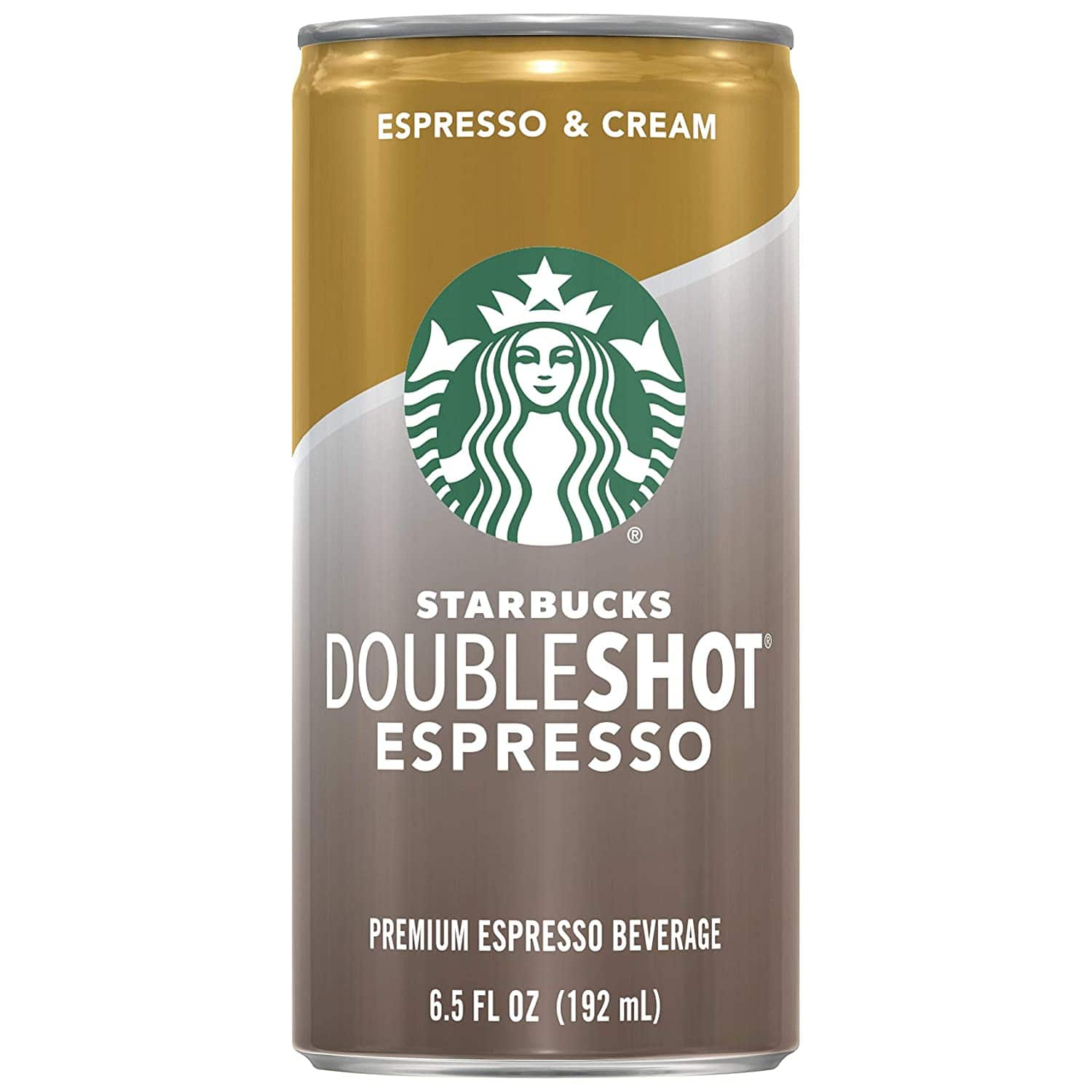 Amazon.com : Starbucks Doubleshot, Espresso + Cream, 6.5 Ounce, 12 Pack : Energy Drinks : Grocery & Gourmet Food $14.97