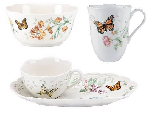 Expires Today Lenox Butterfly Meadow Set & More + Extra $50 Off $100 +Free Shipping $29.99