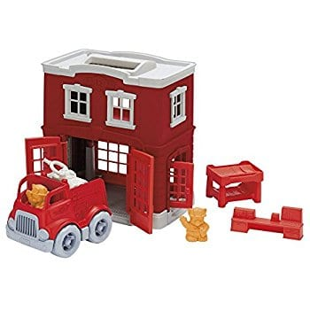 Green Toys Fire Station Playset - $19.52 - Amazon