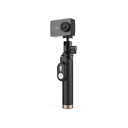 Yi 4K Action and Sports Camera, 4K/30fps Video 12MP, Selfie Stick & Bluetooth Remote + 32G MicroSD $179.99