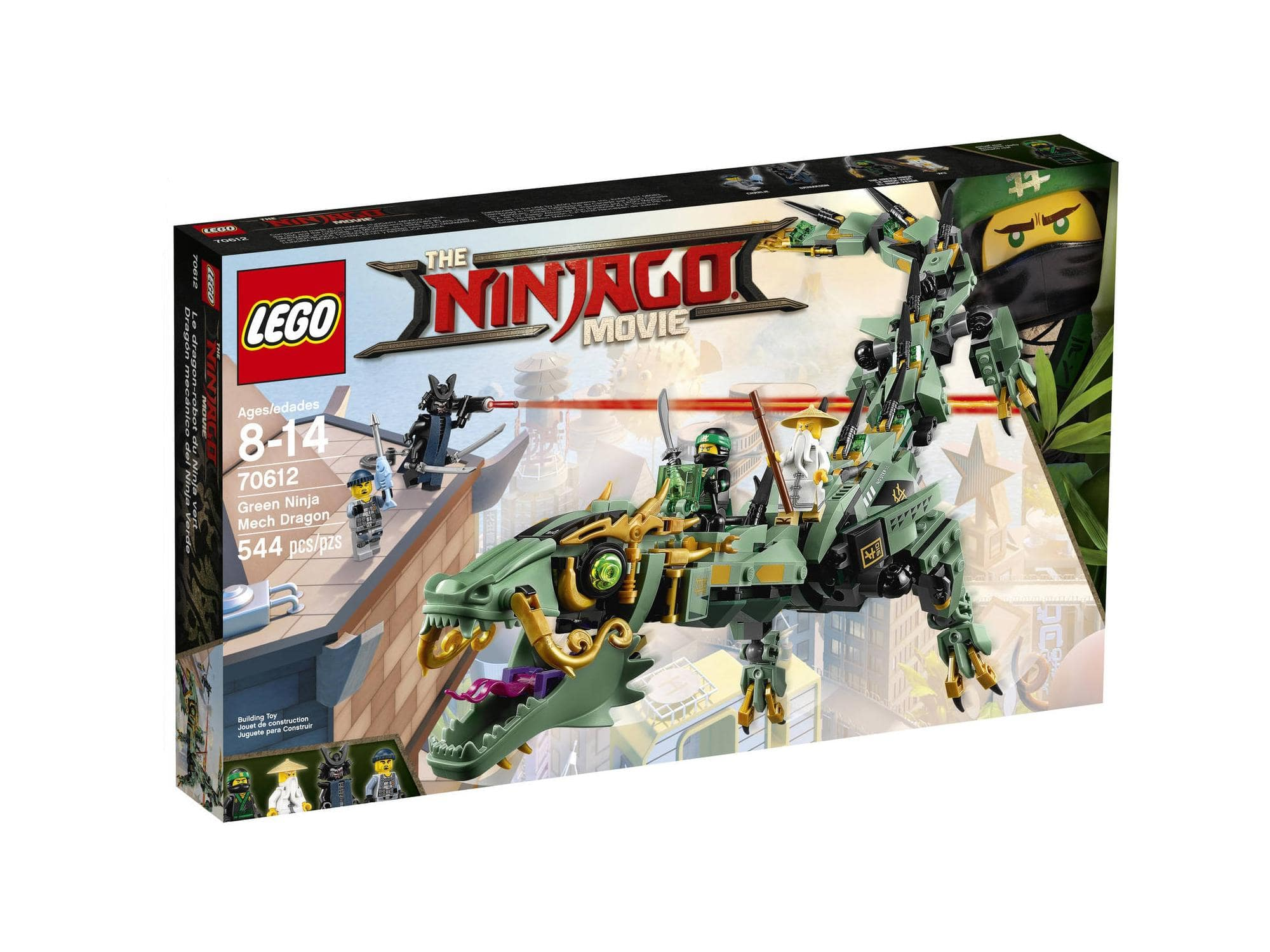 20% off some lego ninjago movie sets