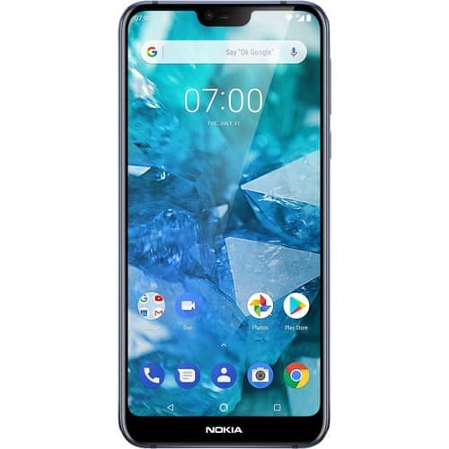 Nokia 7.1 with 64GB Memory Cell Phone (Unlocked) Blue TA-1085 BLUE - Best Buy $200 w/ activation or $250 w/o activation
