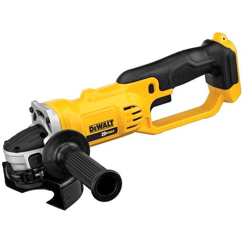 "Dewalt DCG412B 20V MAX* Lithium Ion 4-1/2"" grinder (Tool Only) $84.99"