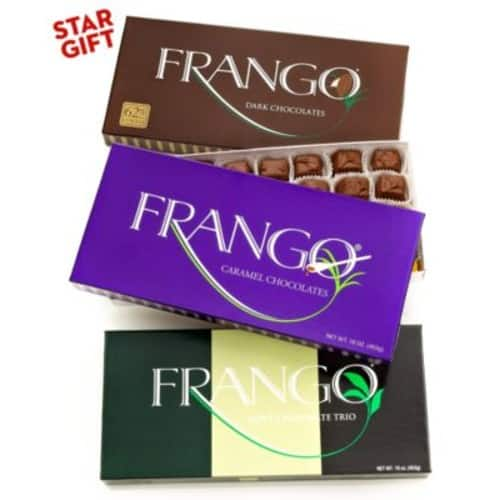 4 Frango Chocolates 45-Piece Boxes $31.96 Today only