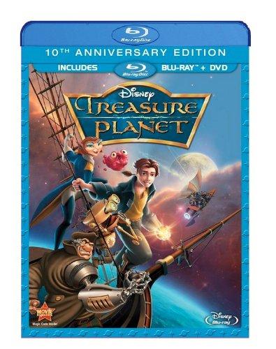 Treasure Planet 10th Anniversary Edition DVD + Blu-ray $9.96 @ Amazon and Walmart