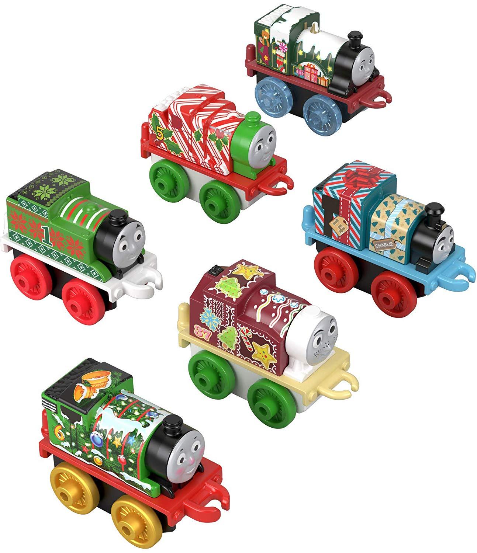 Thomas & Friends Fisher-Price MINIS, Advent Calendar [2018] (24 mini trains) $17.99 at Amazon