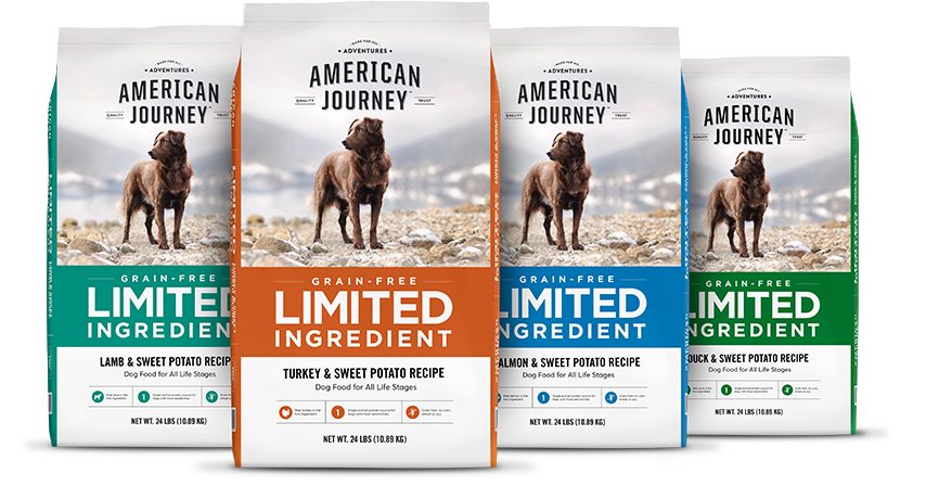 American Journey Dog Food 108 Lbs Total $52 or Less FS Chew.com $51.96