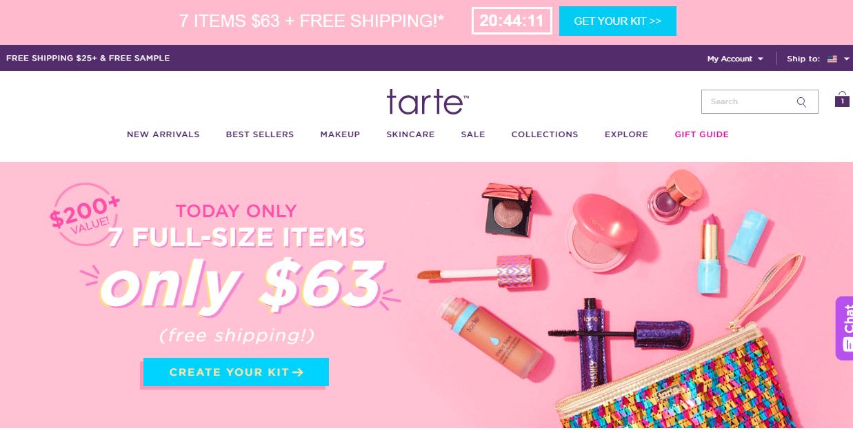 7 Full Size Tarte Items For 63 Slickdealsnet