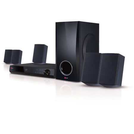 LG 5.1 Channel 500W Smart 3D Blu-ray Home Theater System (BH5140S) - YMMV $89