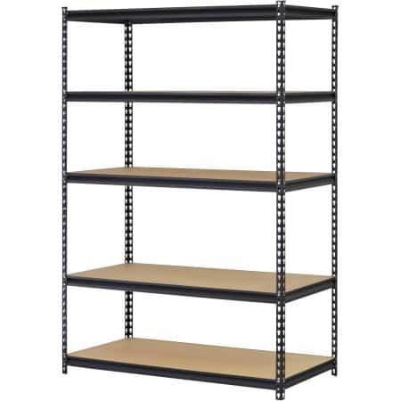 Edsal 5-Shelf Steel Storage Rack $49.99 + Free shipping