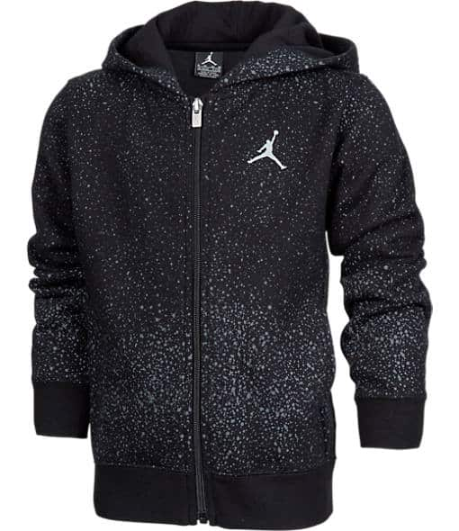 Boys' Jordan Flight Fleece Full-Zip Hoodie $60 + free shipping
